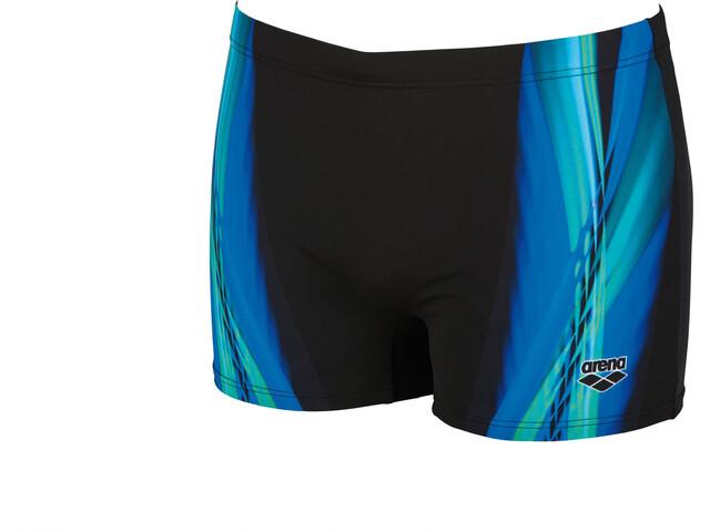 arena Iridiscent Shorts Herren black-turquoise